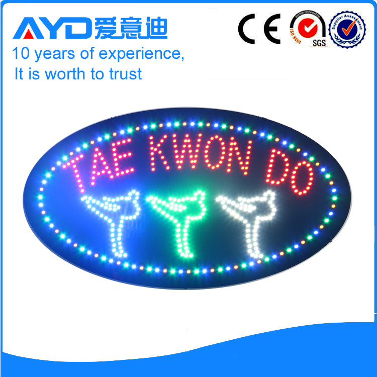 AYD LED Tae Kwon Do Sign