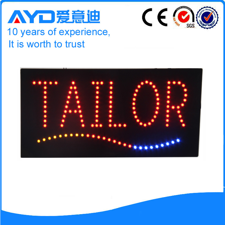 AYD LED Tailor Sign