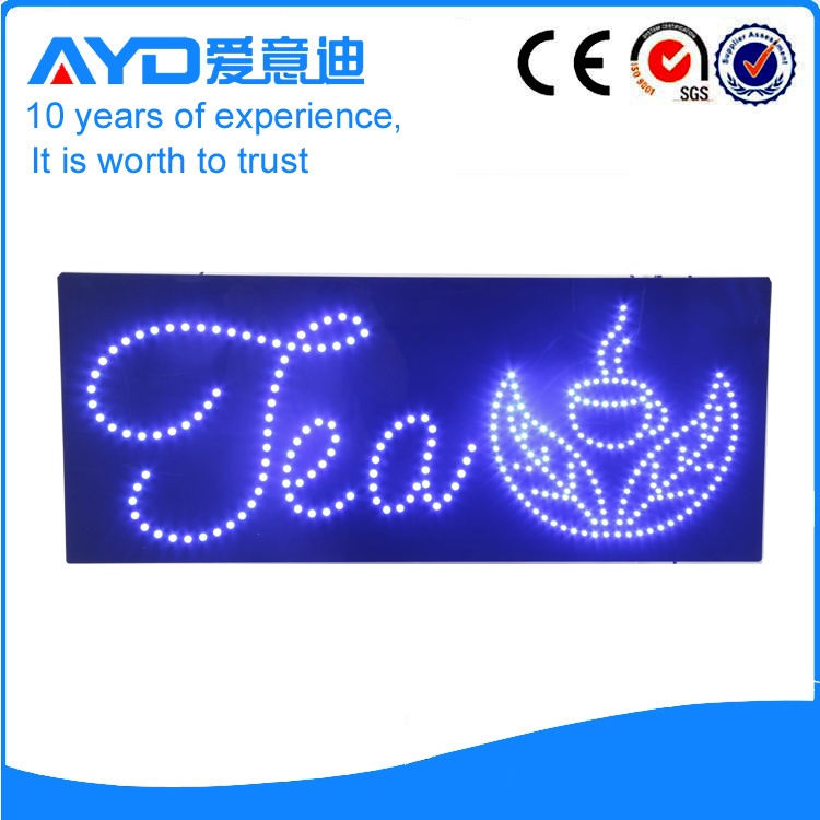 AYD Good Design LED Tea Sign