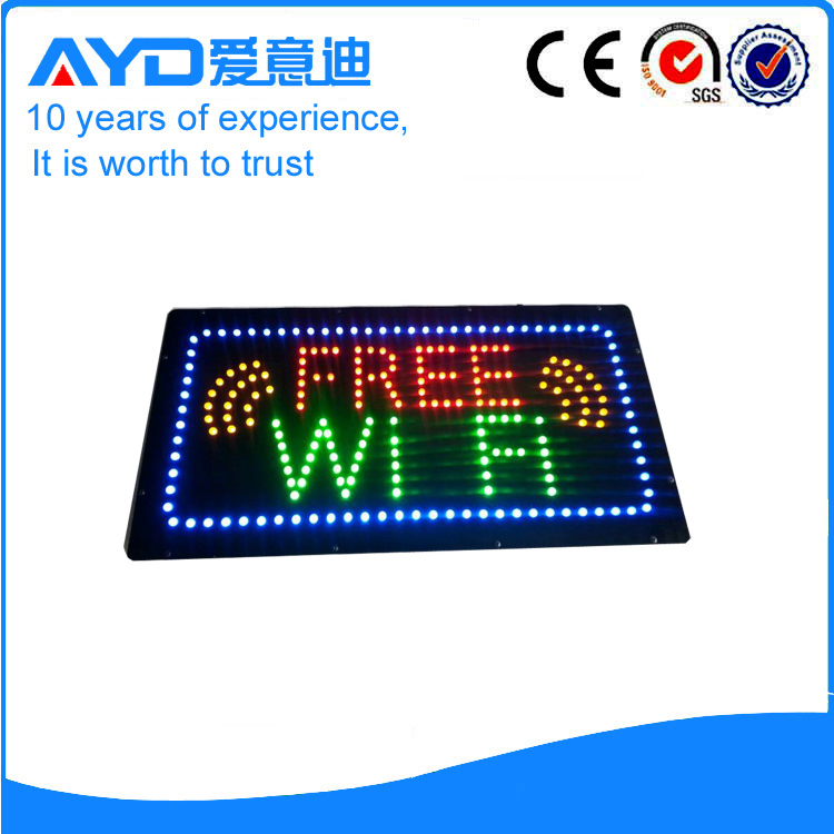 AYD Good Design LED Free Wifi Sign
