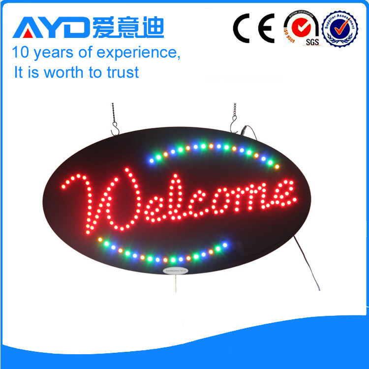 AYD Good Design LED Welcome Sign