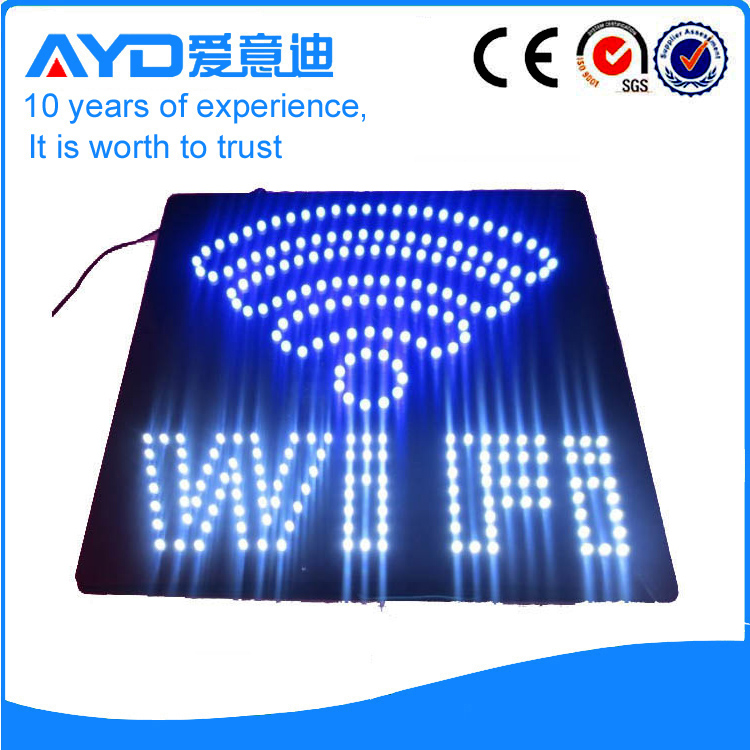 AYD High Bright LED Wifi Sign