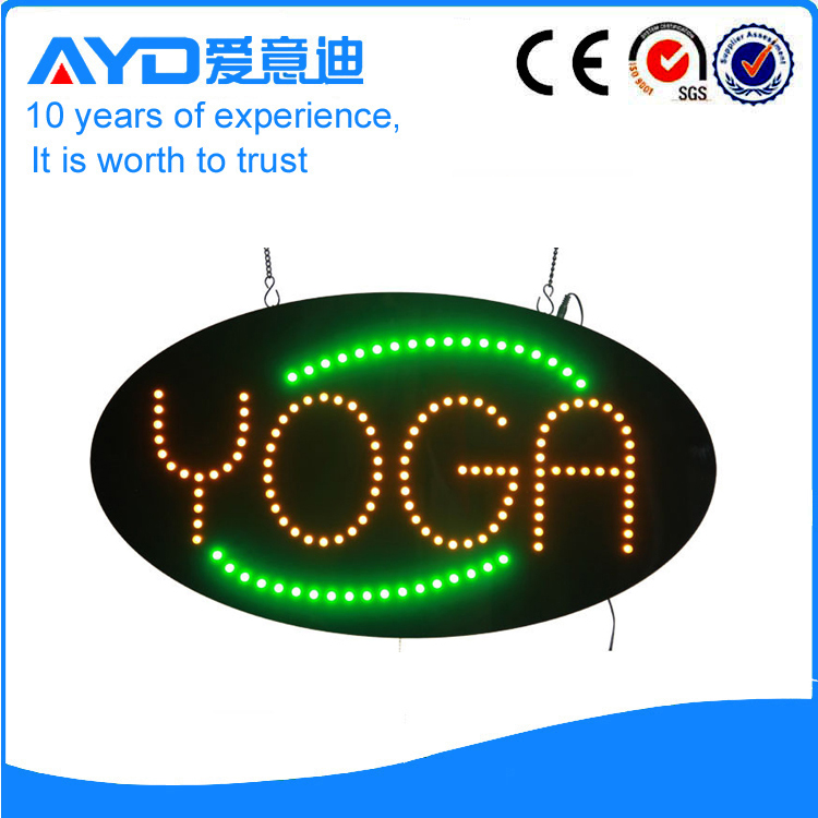 AYD Good Design LED Yoga Sign