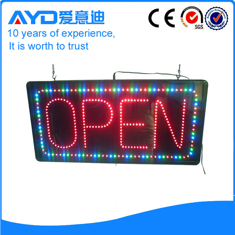 Indoor Flashing LED Open Sign