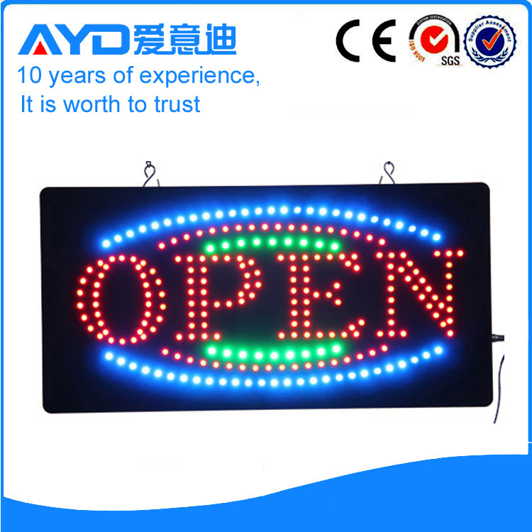 AYD Factory Directly LED Open Sign