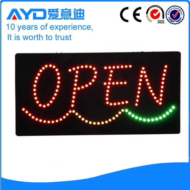 AYD Good Price LED Open Sign