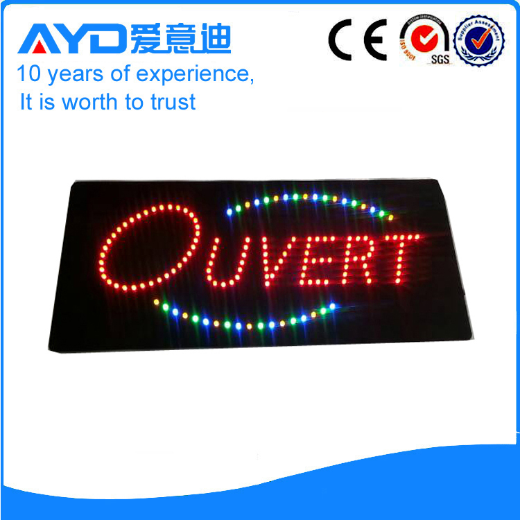 AYD LED Ouvert Sign