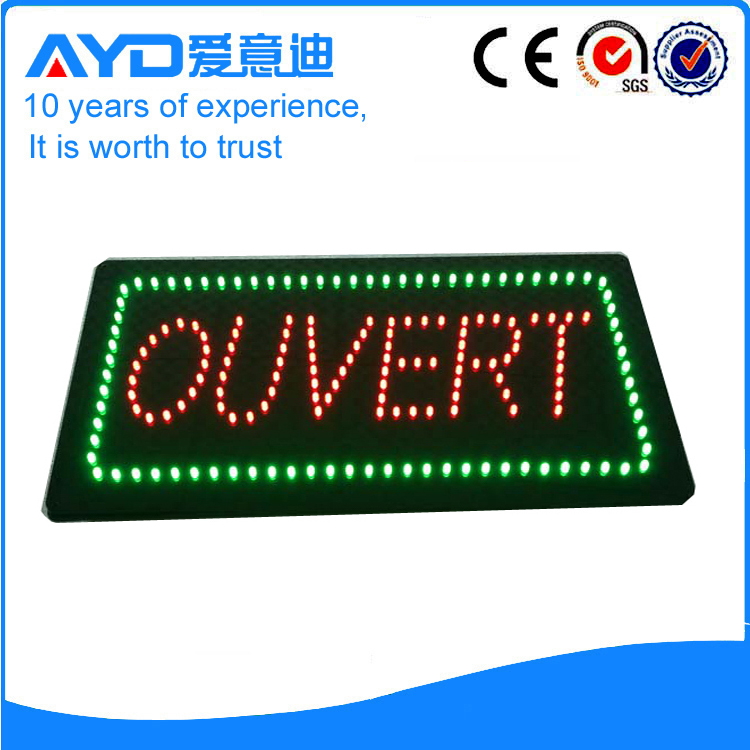 AYD Good Design LED Ouvert Sign