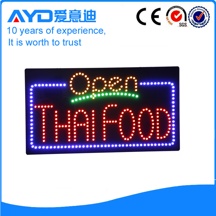 AYD LED Thai Food Open Sign