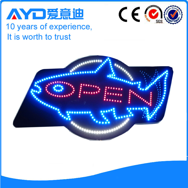 AYD Fish LED Open Sign