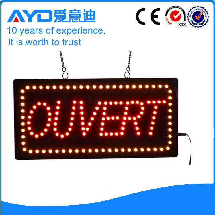 AYD Unique Design LED Ouvert Sign