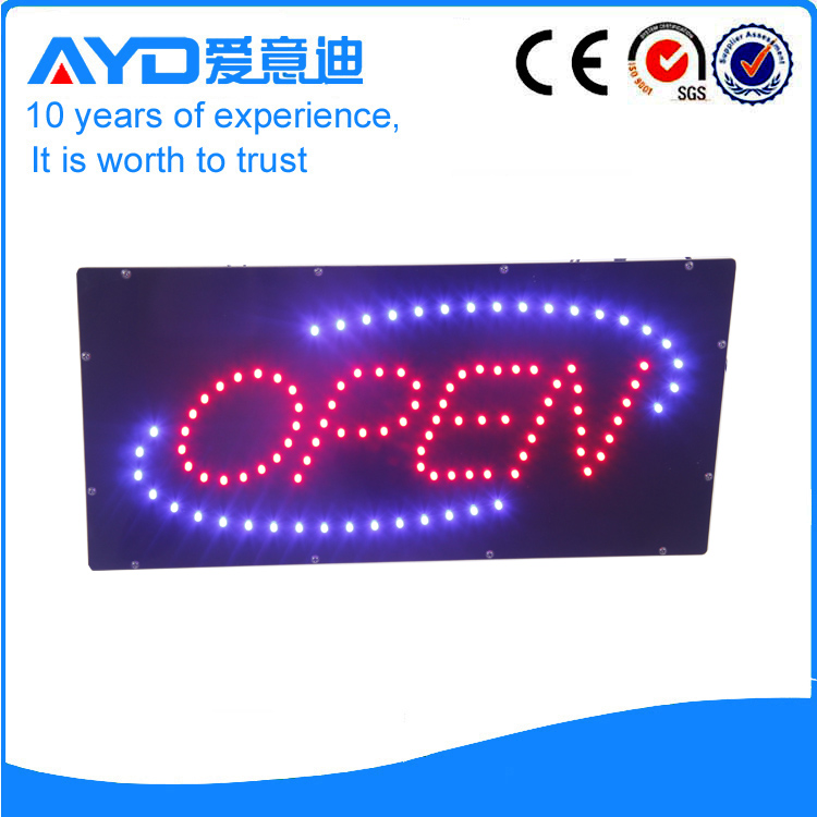 Indoor Good Design LED Open Sign