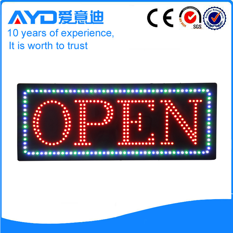 AYD Unique Design LED Open Sign