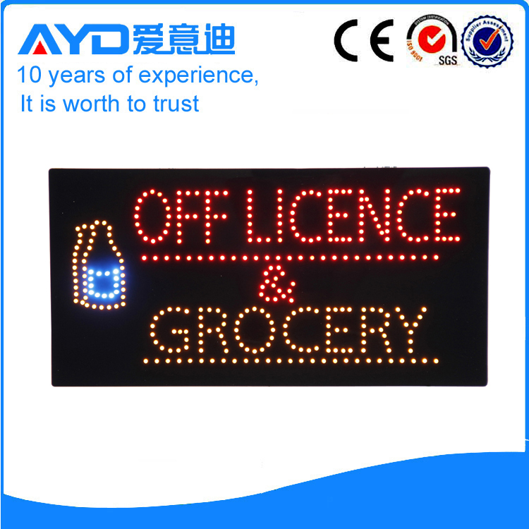 AYD LED Off Licence&Grocery Sign