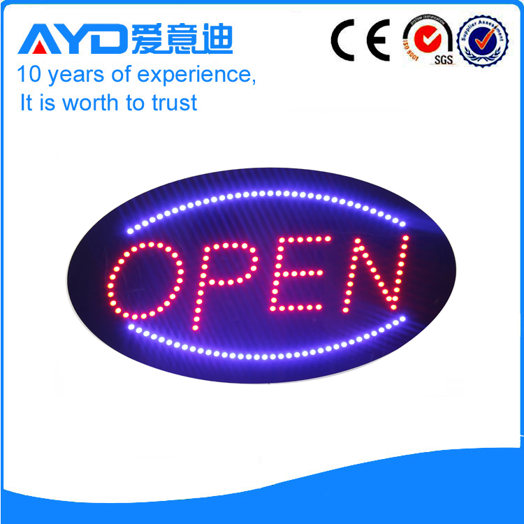 AYD LED Open Sign For Sales