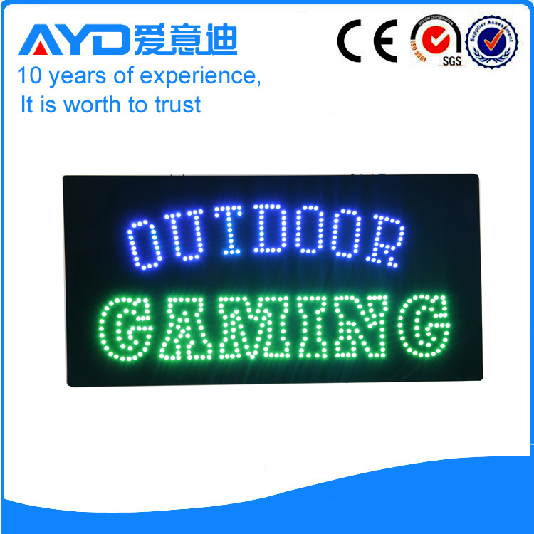 AYD LED Outdoor Gaming Sign