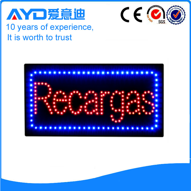 LED Recargas Signs  For Sales
