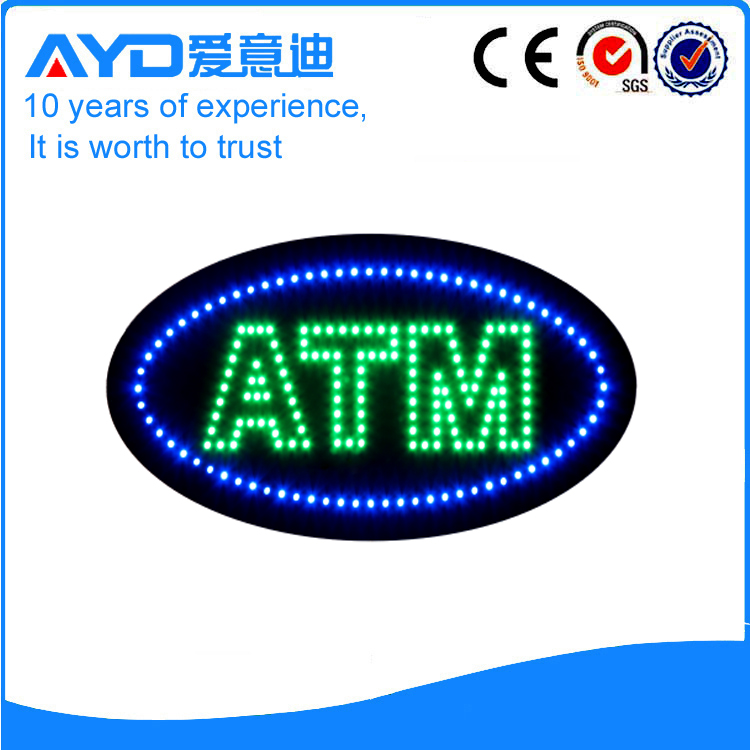 AYD LED Bright ATM Signs HSA0450