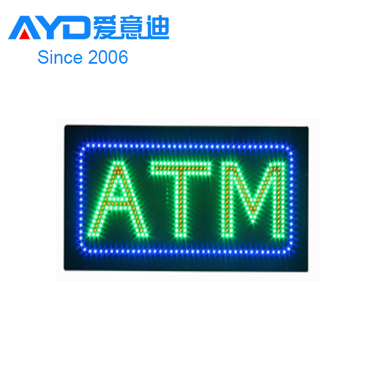AYD Bright LED ATM Signs  For Sales
