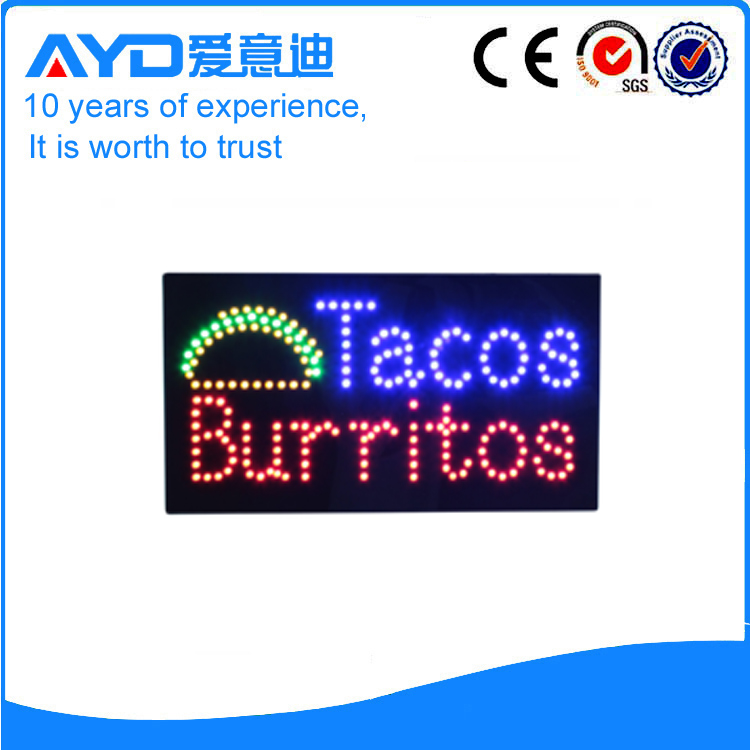 AYD Hot Sale LED Custom Signs For Sales