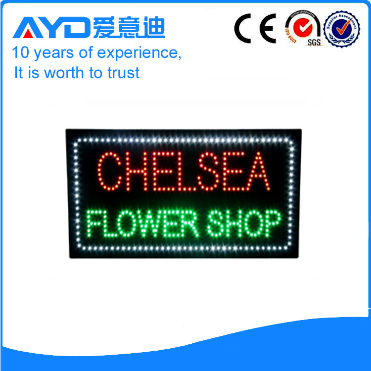 AYD LED Flower Shop Signs Board