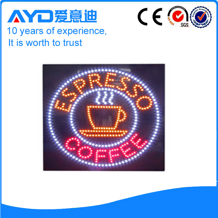 Hot Sale Bright LED Coffee Signs