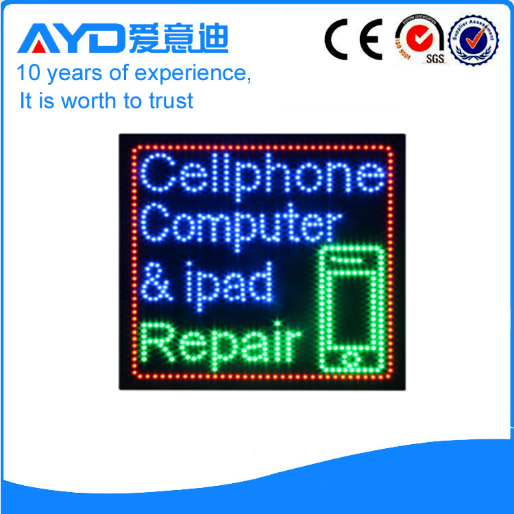 Hot Sale Bright LED Computer Repair Signs